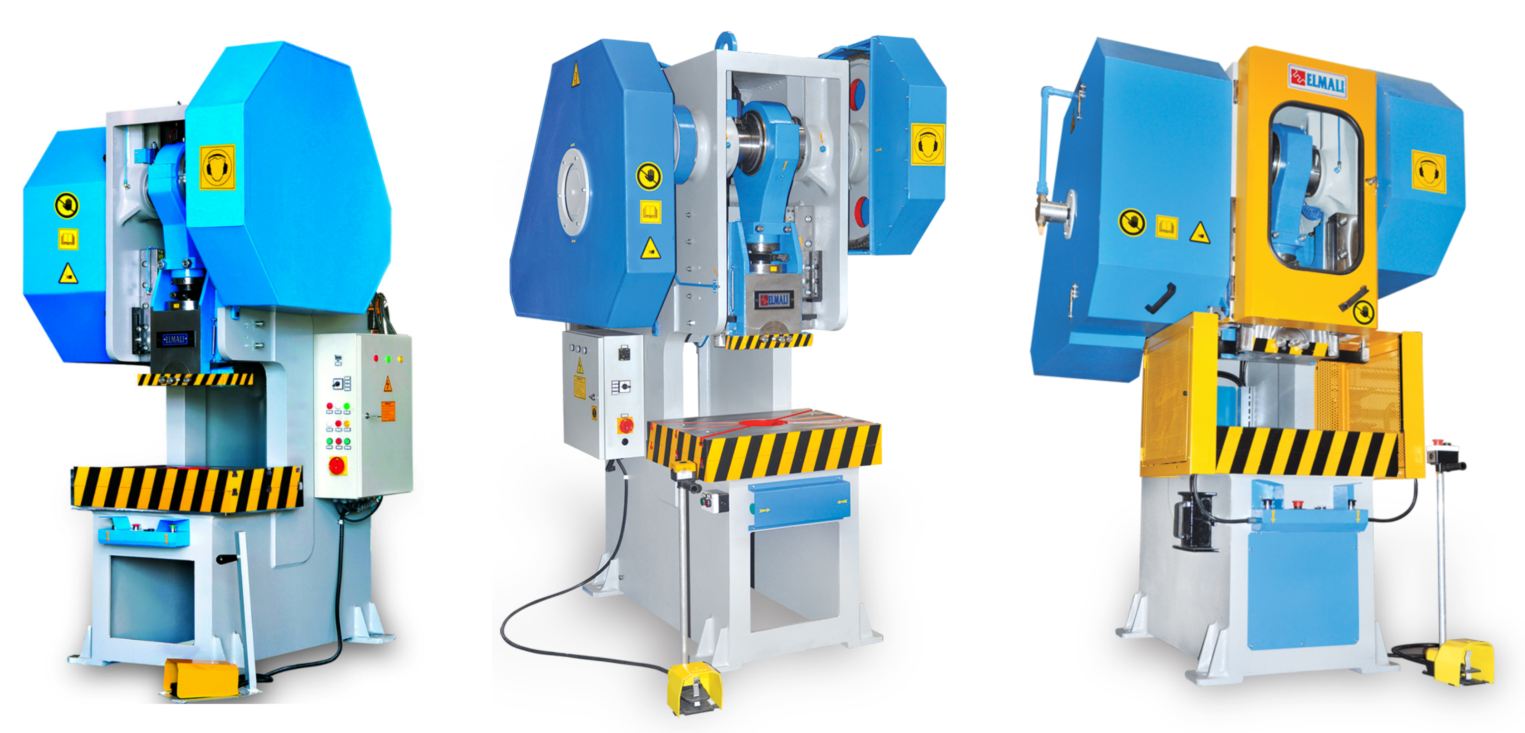 C Type Mechanical Press machine Eccentric Press supplier from Turkey turkish equipment