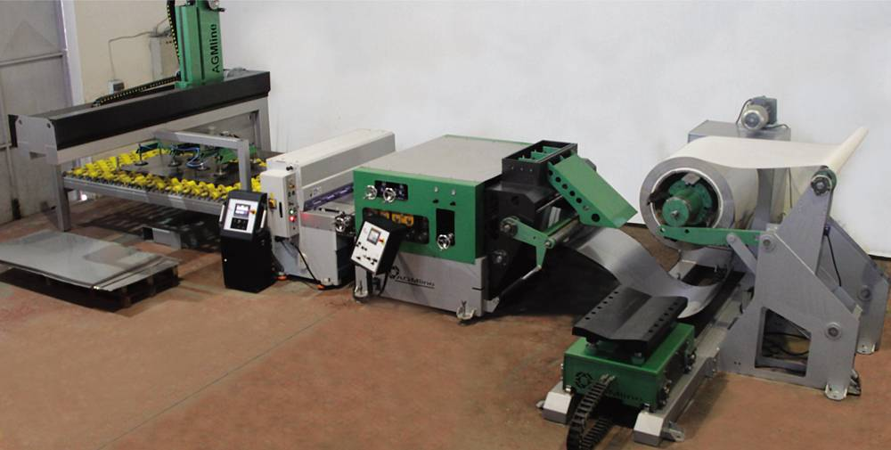Coil Metal Cut to Length Line machine supplier from Turkey