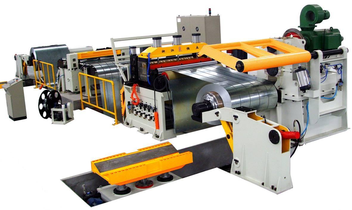 Coil Sheet Slitting Line coil slitter coil decoiler, trimmer, recoiler