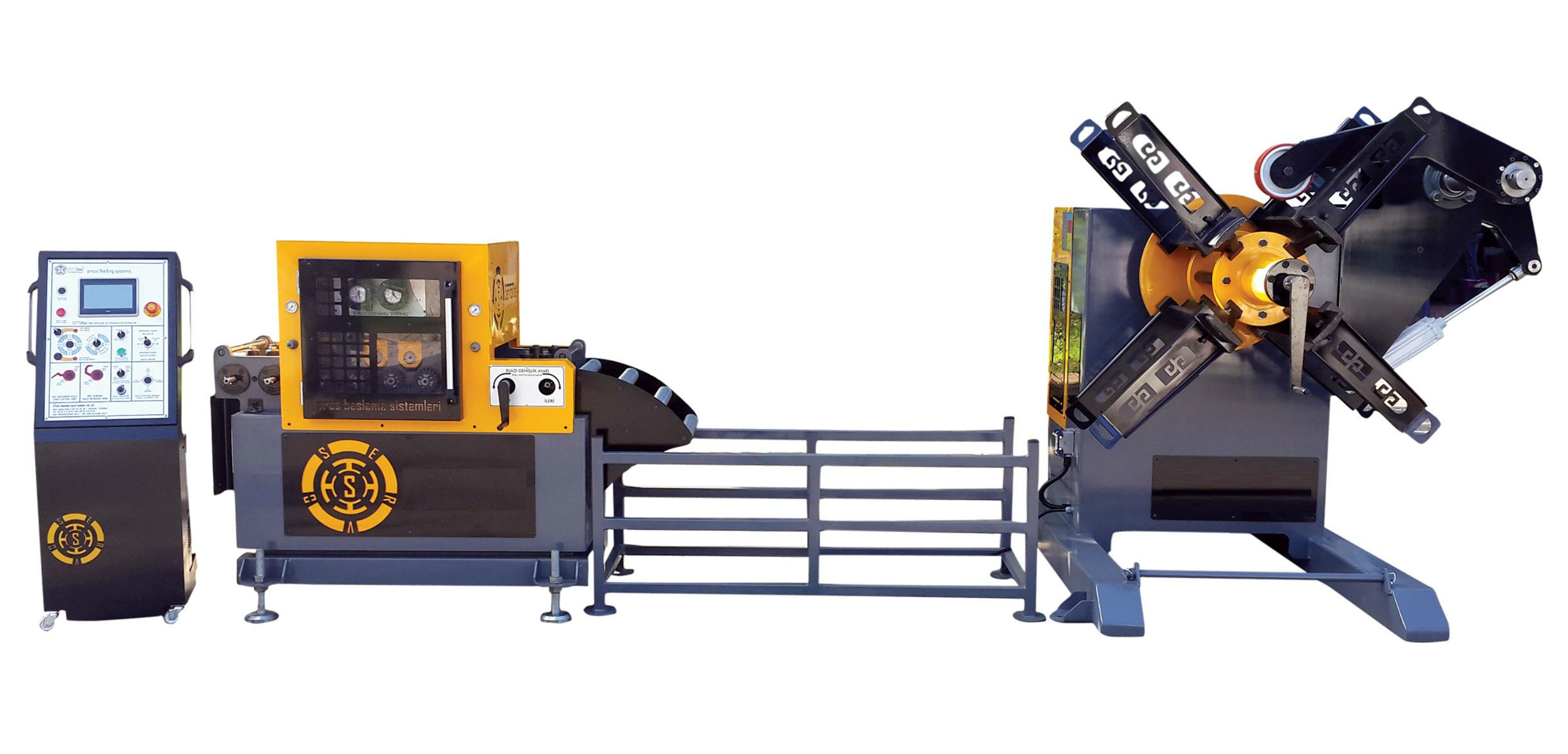 Cut to Length Line Sheet Metal Processing Line Coil Slitting Line Decoiler Straightener Feeder supplier from turkey