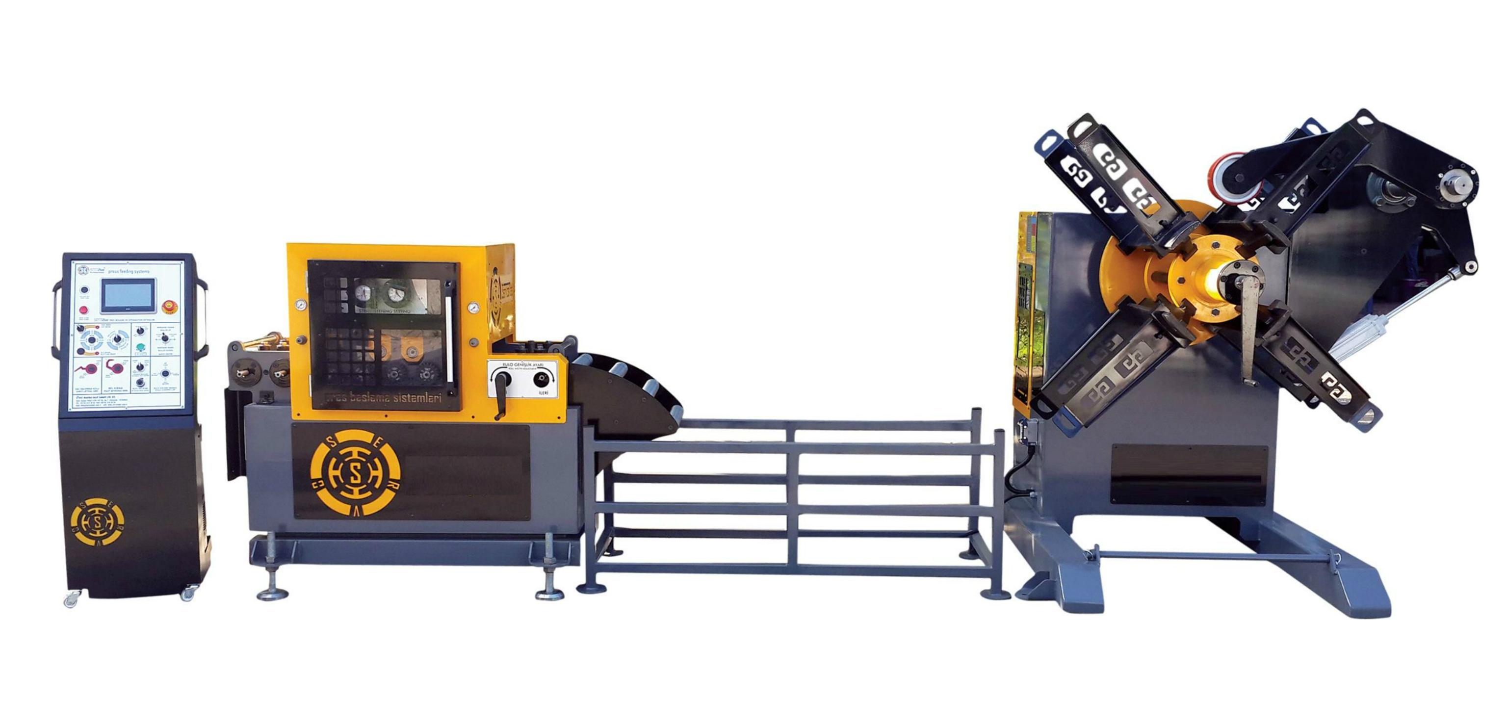 Hydraulic Decoiler supplier from Turkey turkish equipment press feeding system double decoiler motorized decoiler