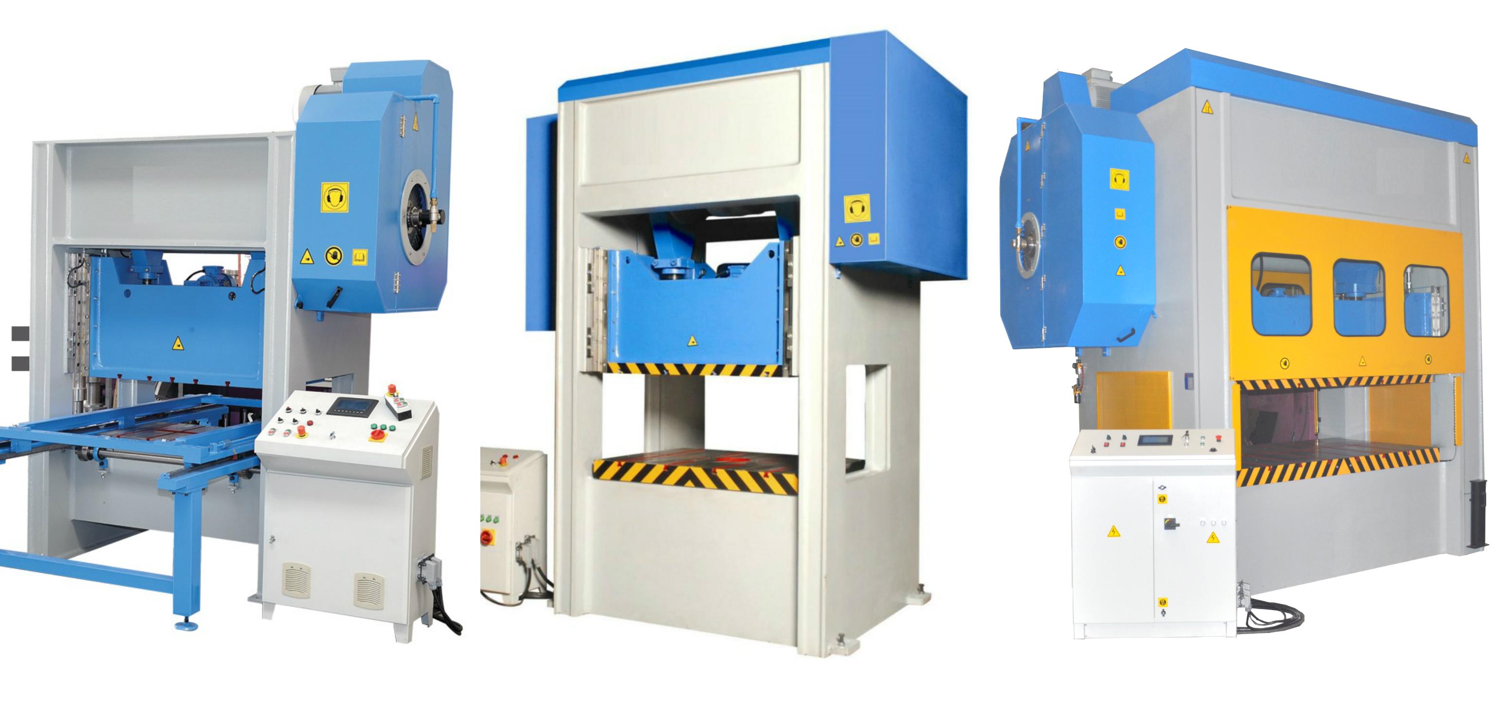 H Type Mechanical Press Eccentric Press machine supplier from Turkey turkish equipment