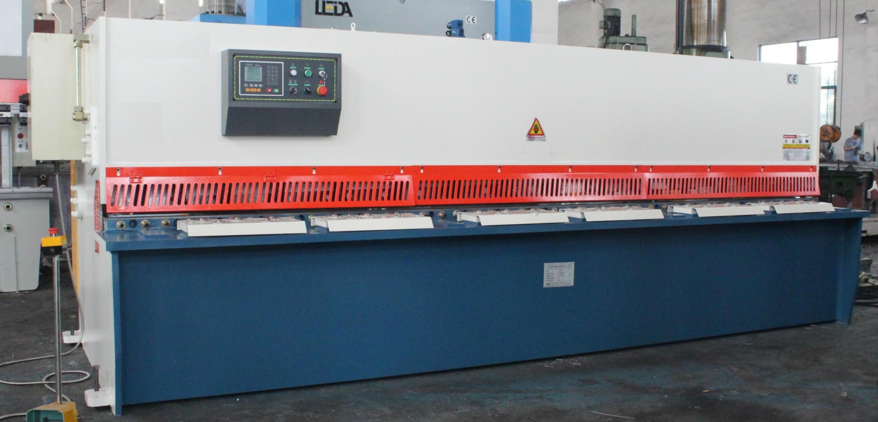 Hydraulic Guillotine Shear supplier from Turkey