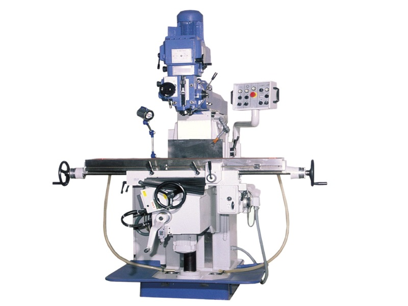 Tool Room Milling Machine with vertical spindle with horizontal spindle