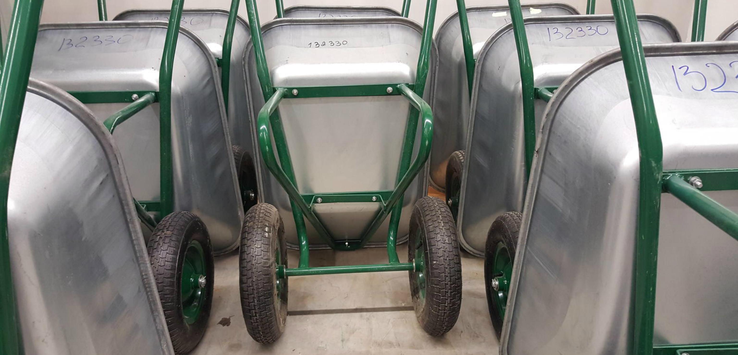 Wheelbarrow production line complete plant agricultural wheelbarrow garden wheebarrow