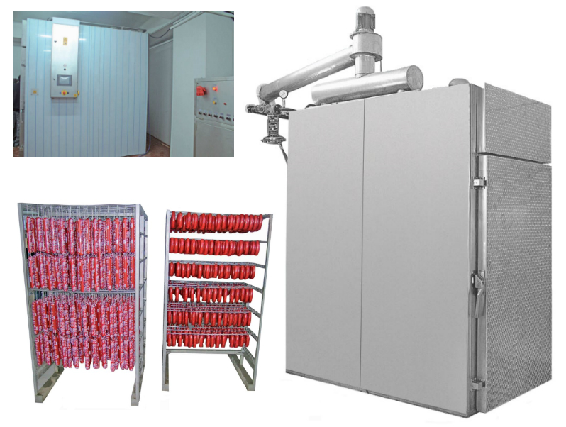 Automatic Oven meat heat treatment furnace supplier from Turkey