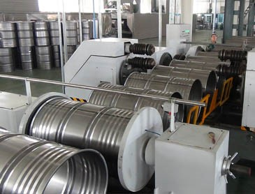 Tight Head Steel Drum Production Line steel barrel manufacturing plant