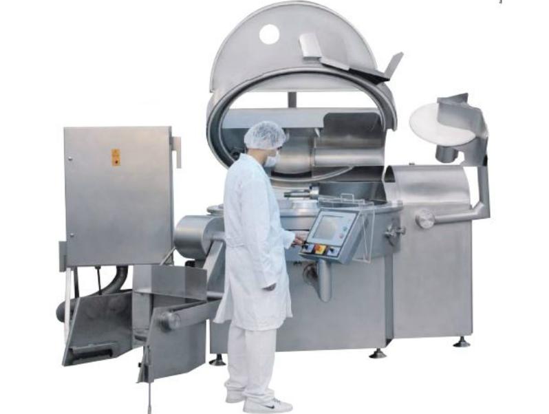Vacuum Meat Cutter Machine cutting equipment supplier from Turkey